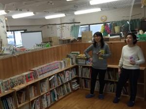 学童&デイサービスの共有スペース